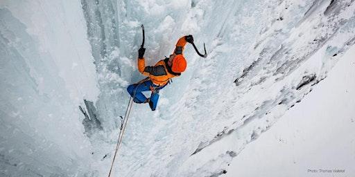 Escalade de glace - julien labedan