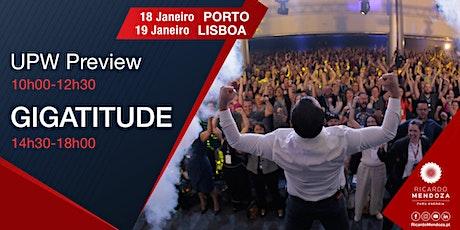 Gigatitude 2020 - Lisboa bilhetes