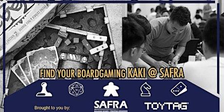 Find Your Boardgaming KAKI @ SAFRA tickets