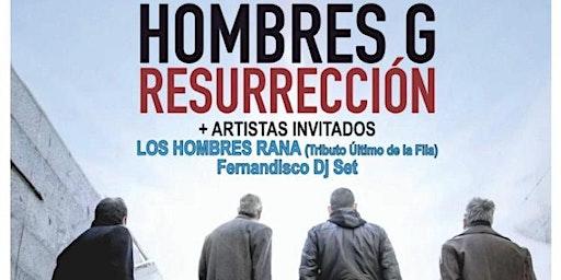 HOMBRES G RESURRECCIÓN en EL BOSQUE ( CÁDIZ )