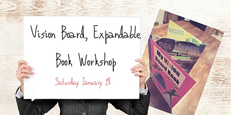 Vision Board, Expandable Book Workshop tickets