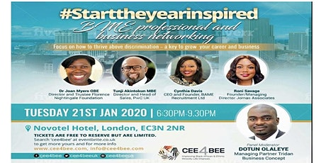 Start the Year Inspired! - A free BME networking event tickets