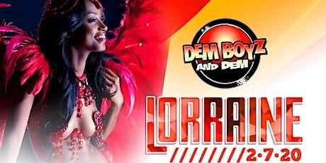 Lorraine 2020 tickets