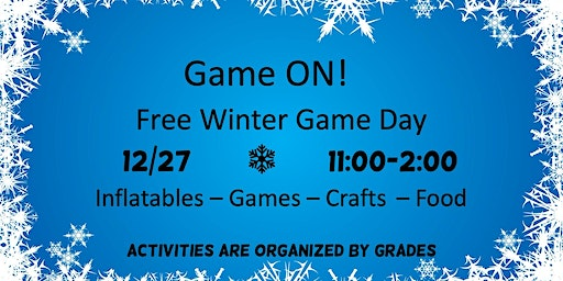 Free Indoor Game Day