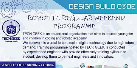 Robotic Weekend Class tickets