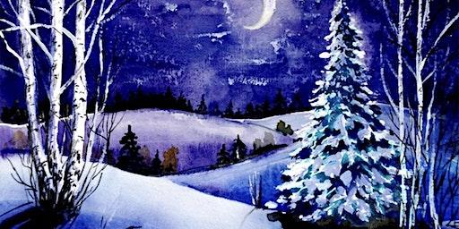 Winter Joy Paint Party