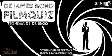 De James Bond FilmQuiz | Waalwijk tickets