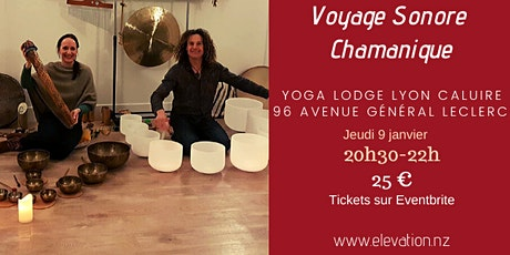 Voyage Sonore Chamanique tickets