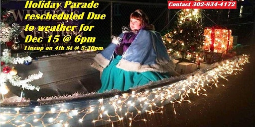 Annual Holiday Festival of Lights Parade