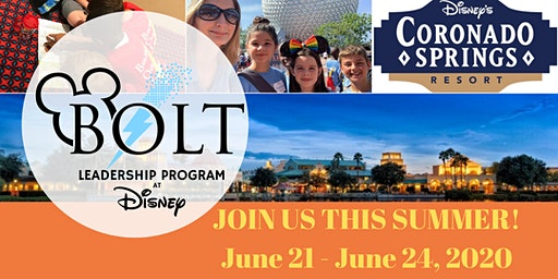 Summer 2020 'Building Our Leaders of Tomorrow' Leadership Program at Disney