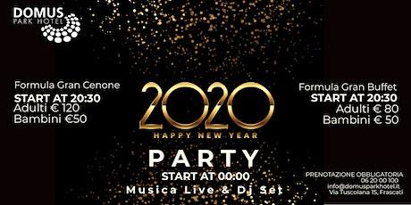 Capodanno 2020 al Domus Park Hotel biglietti