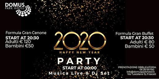 Capodanno 2020 al Domus Park Hotel