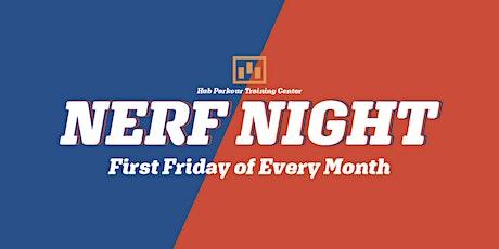 Nerf Night tickets