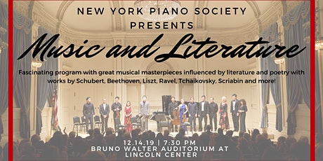 Holiday Concert: Music and Literature tickets