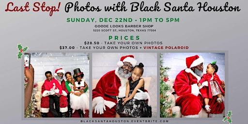 Last Stop! Meet The Black Santa Houston - The Real Santa Claus!