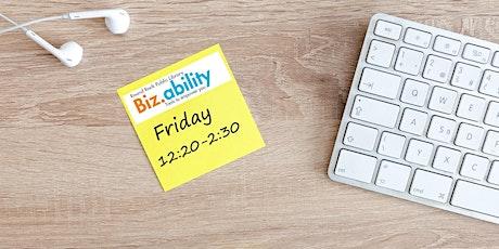 Biz.ability: Launch Your Social Media—The Basics tickets