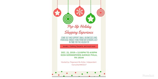 Pop-Up Shop Holiday Experience