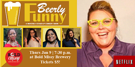 Beerly Funny Comedy Show - Monthly Showcase tickets