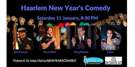 Haarlem New Year's Comedy & Drinks tickets