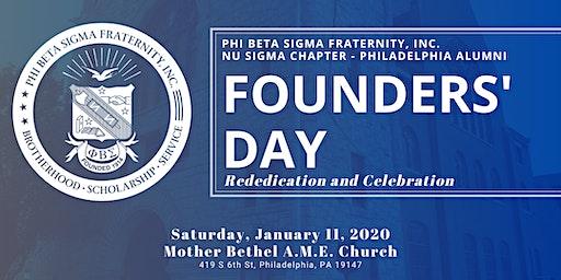 Founders' Day Celebration