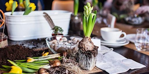 Tabletop Bulb and Branch Garden Workshop