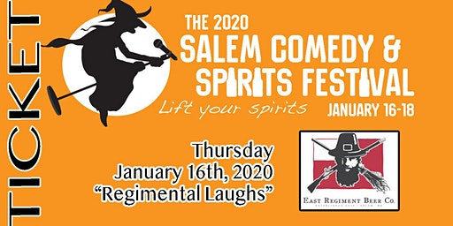 2020 Salem Comedy & Spirits Festival: Regimental Laughs (night1)