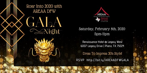 AREAA DFW 2020 Charity Gala Night