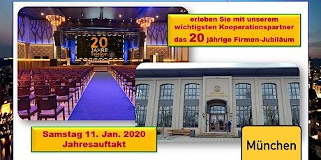 Jahresauftakt 2020 und das 20 jährige Firmen-Jubiläum Tickets