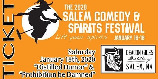 2020 Salem Comedy & Spirits Festival: Double Show Night! (night3)
