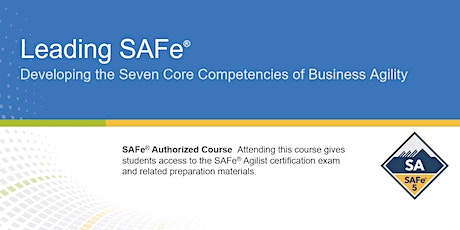 Leading SAFe® 5.0 Certification Training in Calgary, Canada tickets