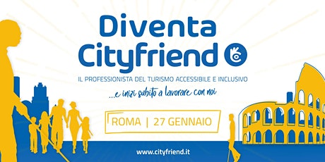 Diventa Cityfriend, il professionista del turismo accessibile e inclusivo tickets