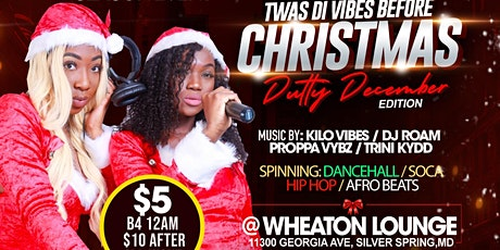 Twas Di Vibes Before Christmas tickets