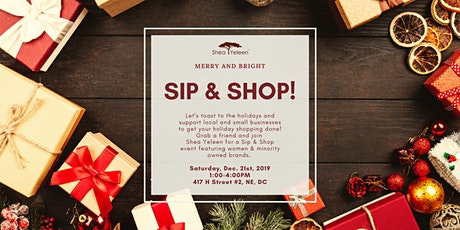 Holiday Sip & Shop tickets