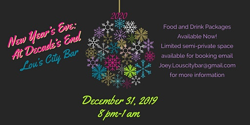 Lou's New Year's Eve: At  Decade's End