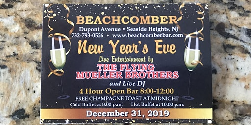 Beachcomber's New Year Party