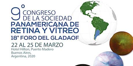 Congreso Panamericano de Retina y Vítreo 2020 entradas