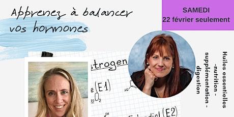 Apprenez à balancer vos hormones (Samedi seulement) billets
