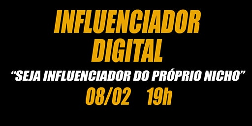 "Palestra ""influenciador digital"""
