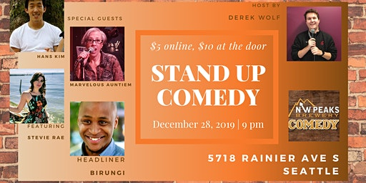 Stand Up Comedy Show: December 28th