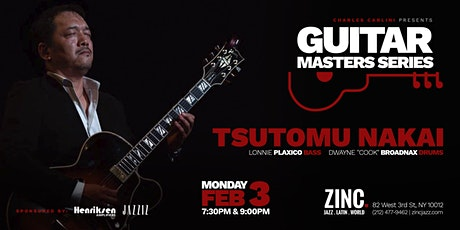Guitar Masters Series: Tsutomu Nakai tickets