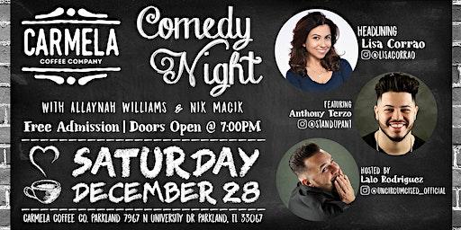 Stand Up Comedy | Lisa Corrao | Carmela Coffee (Parkland)