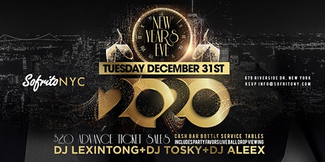 New Years Eve 2020  At Sofrito tickets