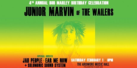 Junior Marvin (of The Wailers): 4th Annual Bob Marley Bday Celebration tickets