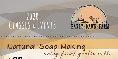 Natural Soap Making tickets