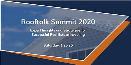 Rooftalk Summit 2020: State of the Real Estate Market tickets