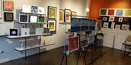 3D and Watercolor Art Pop-Up Shop