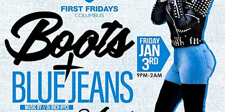 First Fridays Boots & Blue Jeans 2020 tickets