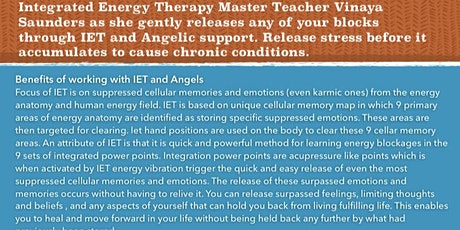 Integrated Energy Therapy / Energy healing/ Basic Certification  tickets