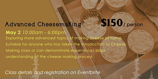 Advanced Cheesemaking
