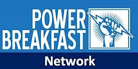 POWER BREAKFAST Network Meeting tickets